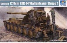 Trumpeter 05523 German 12.8cm PAK 44 Waffentrager Krupp 1 (1:35)