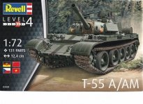 Revell 03304 T-55 A/AM (1:72)
