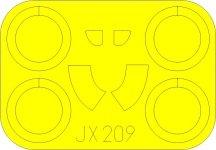 Eduard JX209 I-16 Type 24 ICM 1/32