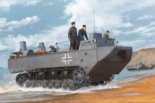 Hobby Boss 82461 German Land-Wasser-Schlepper II-Prototype (1:35)