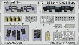 Eduard SS624 B-2A MODELCOLLECT 1/72