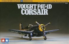 Tamiya 60752 Vought F4U-1D Corsair 1/72