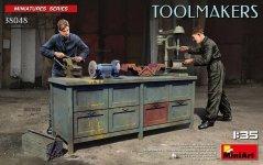 Miniart 38048 Toolmakers 1/35