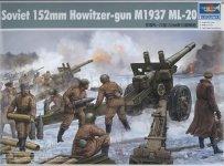 Trumpeter 02315 Soviet 152mm Howitzer-gun M1937 (1:35)