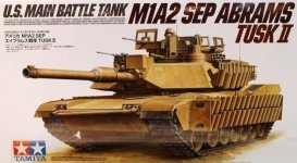 Tamiya 35326 US M1A2 SEP Abrams TUSK II (1:35)