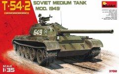 MiniArt 37012 T-54-2 SOVIET MEDIUM TANK. Mod 1949 (1:35)