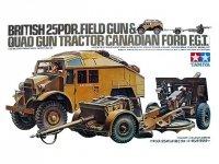 Tamiya 35044 Br.25PDR Gun Quad Tractor (1:35)