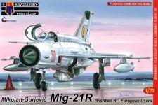 Kozavody Prostejov KPM0086 MiG-21R 1/72