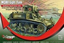 Mirage Hobby 726074 Kuybishev M3A1 Diesel Tank (1:72)
