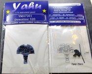 Yahu YMA7201 Dewoitine D.520 (RS / Hasegawa) 1:72