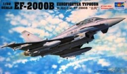 Trumpeter 02279 EF-2000B Eurofighter Typhoon (1:32)