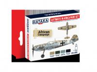 Hataka HTK-AS06 Luftwaffe in Africa paint set 4x17ml