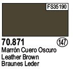 Vallejo 70871 Leather Brown (147)