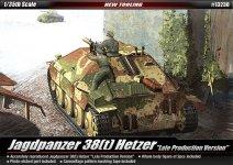 Academy 13230 Jagdpanzer 38(t) Hetzer (Late Production) (1:35)