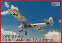 IBG 72503 RWD-8 PWS German Latvian and Soviet Service (1:72)