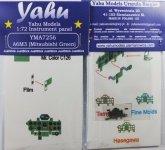 Yahu YMA7256 A6M3 Mitsubishi Green (Tamiya / FM / Hasegawa) 1:72