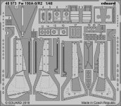 Eduard 48973 Fw 190A-8/ R2 EDUARD 1/48