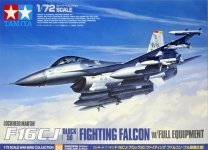 Tamiya 60788 F-16CJ Block 50 Fighting Falcon w/Full Equipment (1:72)