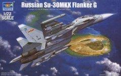 Trumpeter 01659 Russian Su-30MKK Flanker G (1:72)