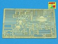 Aber 35A003 Uchwyty do niemieckich narzędzi do1943 (1:35)
