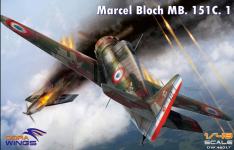 Dora Wings 48017 Bloch MB.151 1/48