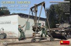 MiniArt 35350 German Tankmen with Gantry Crane 1/35