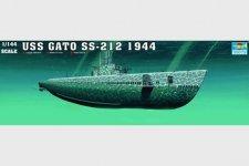 Trumpeter 05906 USS Gato SS-212 Submarine 1944 (1:144)