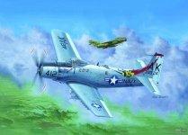 Trumpeter 02253 A-1H AD-6 Skyraider (1:32)