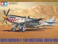 Tamiya 61044 North American F-51D Mustang Korean War (1:48)