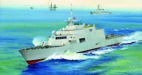 Trumpeter 04549 USS Freedom LCS-1 (1:350)