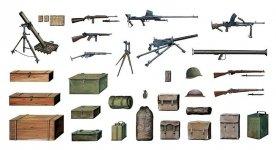 Italeri 0407 Accessories and Guns (1:35)