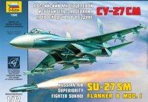 Zvezda 7295 SU-27 SM (1:72)