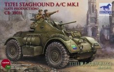 Bronco CB35011 T17E1 Staghound Mk.I Late production