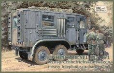 IBG 35004 Einheitsdiesel Kfz.61 1/35