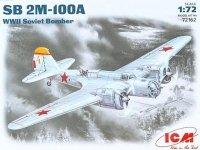ICM 72162 SB 2M-100A WWII Soviet Bomber (1:72)