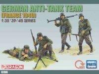 Dragon 6196 German Anti Tank Team France43 (1:35)