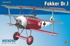 Eduard 7438 Fokker Dr. I 1/72