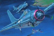 Trumpeter 02225 Grumman F4F- 3 Wildcat(late) (1:32)