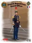 ICM 16004 French Republican Guard Officer 1/16
