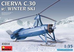 MiniArt 41014 Cierva C.30 with winter ski 1/35