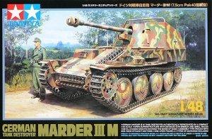 Tamiya 32568 German tank destroyer Sd.Kfz 138 Marder III Ausf.M (1:48)
