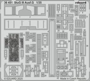 Eduard 36451 StuG III Ausf.G TAKOM 1/35