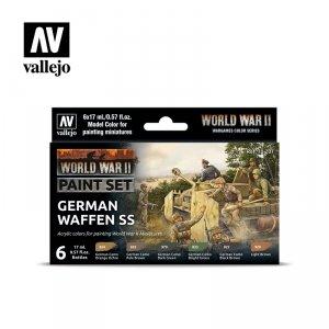 Vallejo 70207 WWII German Waffen SS 6x17ml