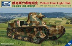 Riich CV35005 Vickers 6-ton light tank Poland (1:35)