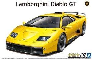 Aoshima 05899 Lamborghini Diablo GT 1/24