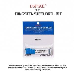 DSPIAE DB-01 1.3mm Tungsten Steel Drill Bit / Wiertło ze stali wolframowej