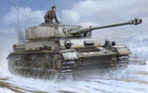 Trumpeter 00922 German Pz.Beob.Wg. IV Ausf.J Medium Tank