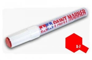 Tamiya 89007 X-7 Red Paint Marker