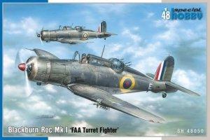 Special Hobby 48050 Blackburn Roc Mk.I FAA Turret Fighter 1/48
