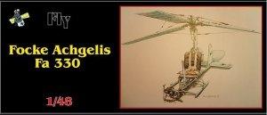 Fly 48003 Focke Achgelis Fa 330 (1:48)